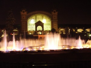 fontaene tur prag show