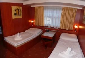dobbeltværelse på Botel Albatros