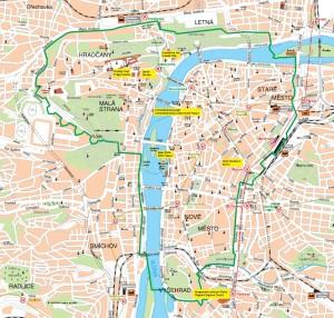 Prag Under Tjekkiets Eu Formandskab Ture I Prag