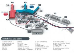 prag-lufthavn-kort