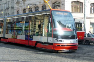 Skoda T-15, den nye Prag sporvogn