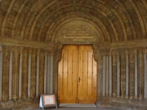 Indgangsport til Basilika Trebic
