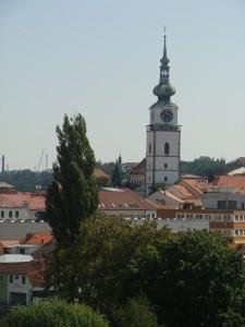 Udsigt fra Basilika trebic