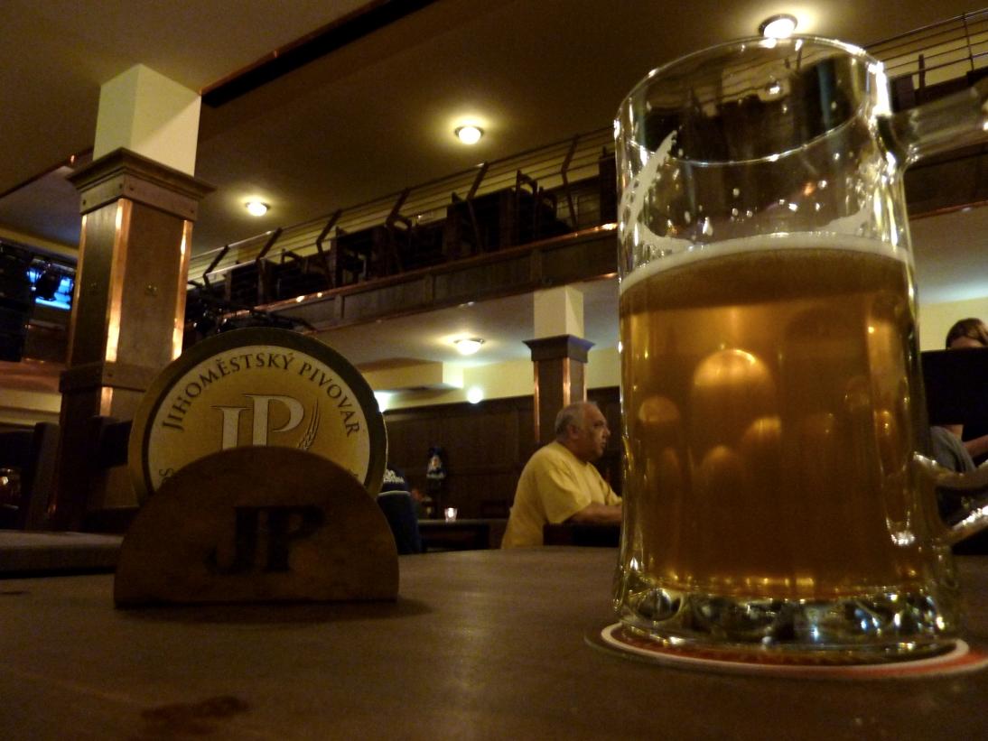 mikrobryggeriet jihimestsky pivovar