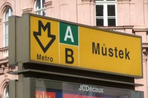 Prag metro kort