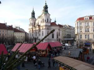 Prag udsigt julemarked