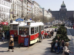 prag tramvaj sporvognscafe