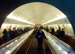 prag metro rulletrappe