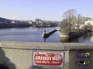 Prag udsigt moldau