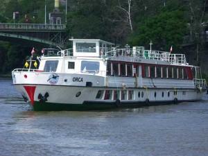 prag bådtur skib