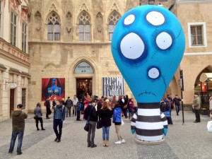 burton udstilling Prag