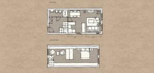 Modern lejlighed i den Gamle By