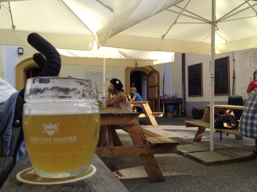 unetice bryggeri terrasse