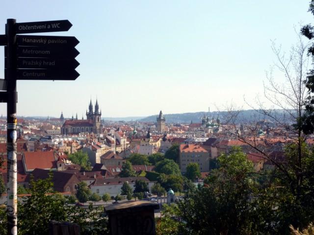 Prag udsigt, Letna