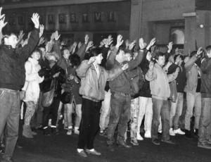 November 1989 i Teplice
