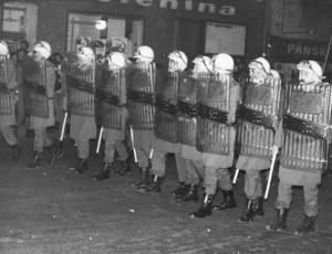 Fløjlsrevolutionen i 1989, Teplice