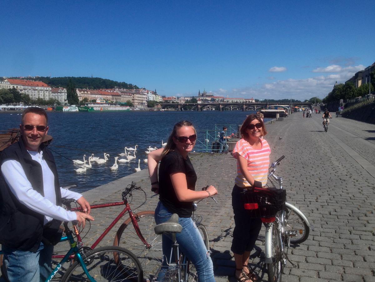 prag cykel udflugt