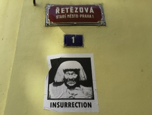 prag streetart insurrection