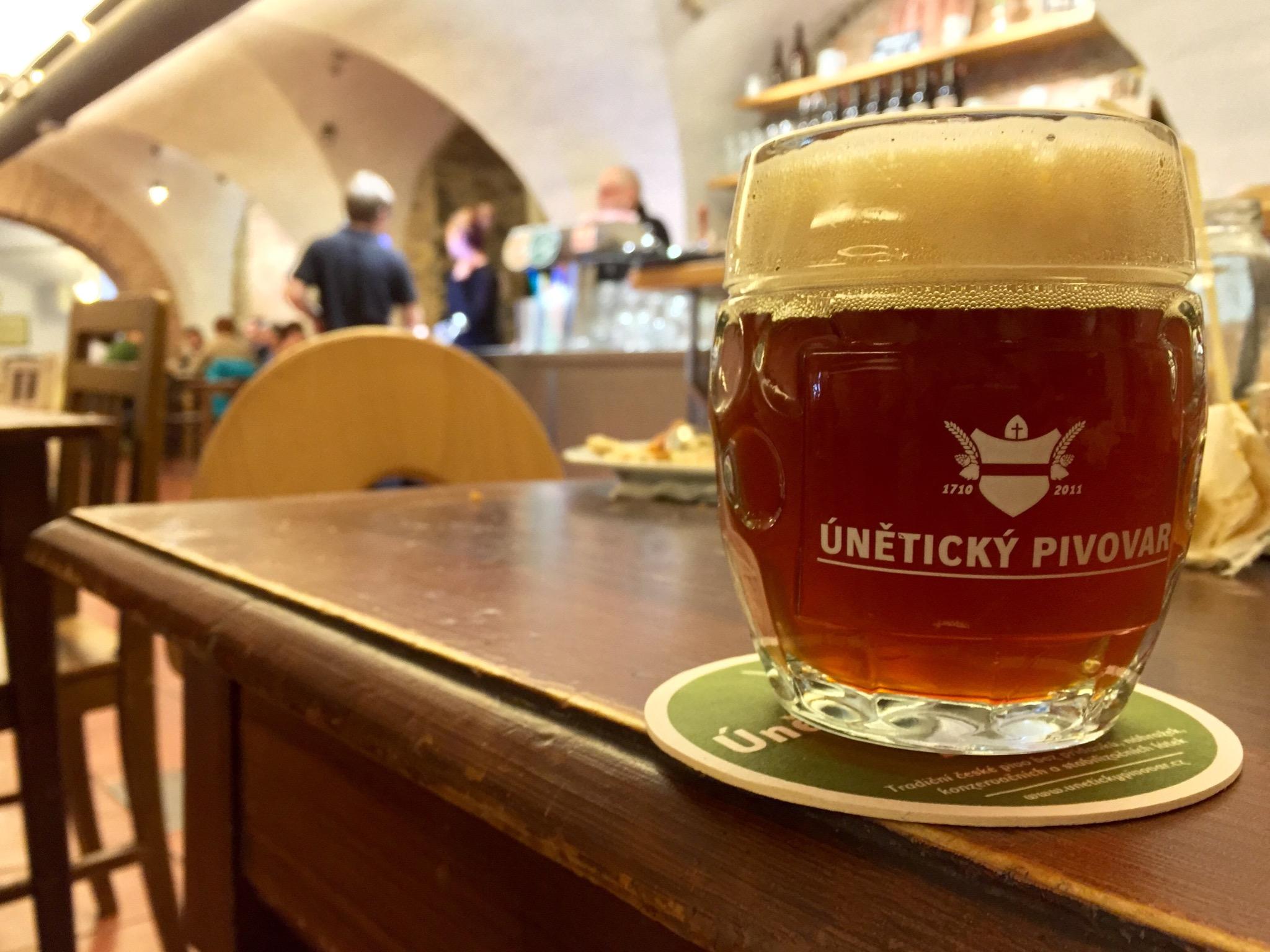 unetice bryggeri tjekkiet