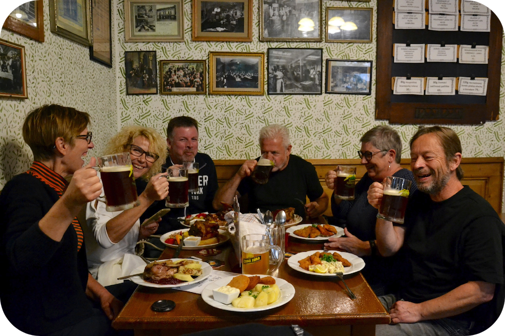 oelrundtur Prag bryggeri